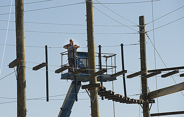 Ropes Course Construction