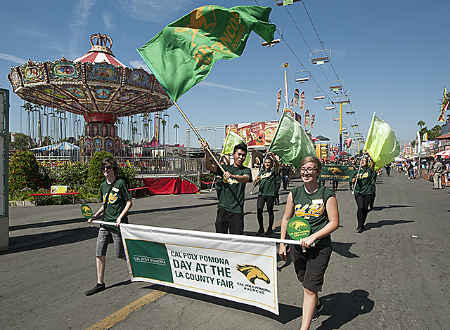 Cal Poly Pomona Day at the Fair