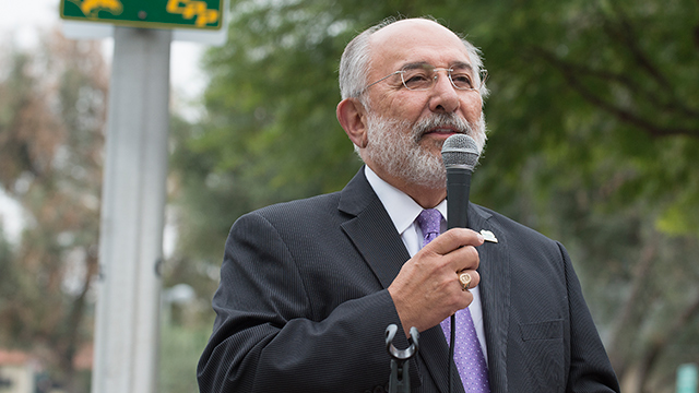 President Emeritus Michael Ortiz has been selected to receive the 2015 Distinguished Leadership Award from his alma mater, the University of North Carolina at Chapel Hill, School of Education.