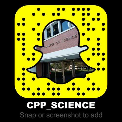 College of Science Snapchat Account Logo