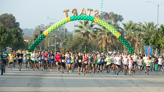 "Nearly 600 runners and walkers hit the streets for the ""The Heart of a Hero: Matt's Run 5K Oct. 17."