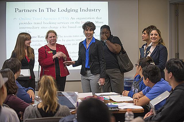 Senator Leyva Visits Collins College