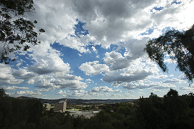 Clouds over Cal Poly Pomona