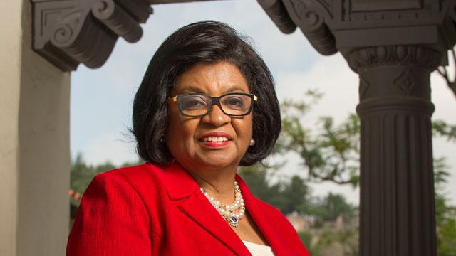 University President Soraya M. Coley