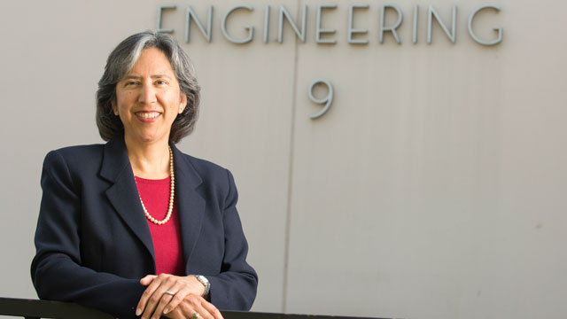 Associate dean Cordelia Ontiveros has been named the interim dean of the College of Engineering, effective Jan. 4, 2016.