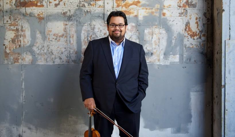 Los Angeles Philharmonic violinist Vijay Gupta will perform on campus Jan. 25 as part of the Shpachenko & Friends music festival.