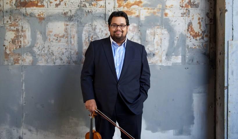Los Angeles Philharmonic violinist Vijay Gupta will perform on campus Jan. 25 as part of the Shpachenko & Friends music festival.