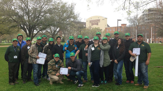 Cal Poly Pomona agriculture students took sixth place at the 40th annual National Collegiate Landscape Competition.