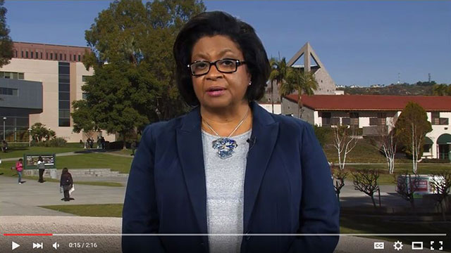 University President Soraya M. Coley shares a message about campus safety.