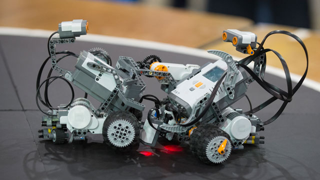 The College of Education & Integrative Studies will host its annual Robot Expo on April 25, and the College of Engineering's annual Robot Rally is scheduled May 6.