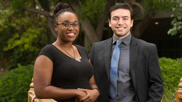 Naomi Alexander and Josh Ebiner are Panetta Interns from Cal Poly Pomona.