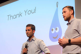 The team that invented the Lono Drop won the Crowd Favorite award.