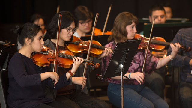 The music department's spring concert series kicks off May 12.