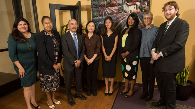 Eight individuals were honored April 28 at the Cal Poly Pomona Center for Community Engagement's Reach Beyond Awards.