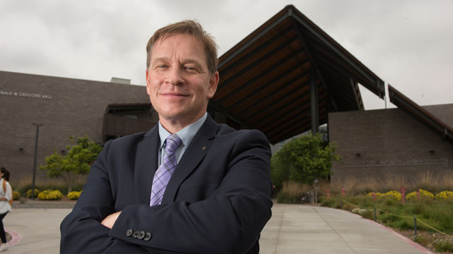 Erik Rolland is the new Dean of the College of Business Administration at Cal Poly Pomona.