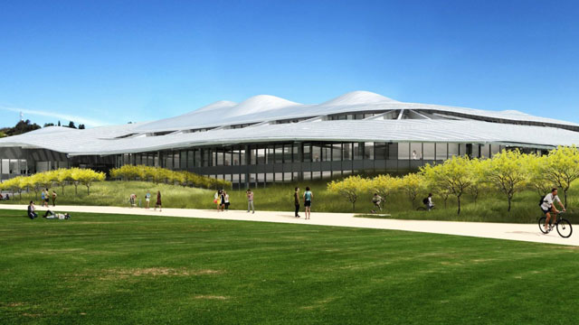 The new Student Services Building is one of many construction projects on the horizon at Cal Poly Pomona.