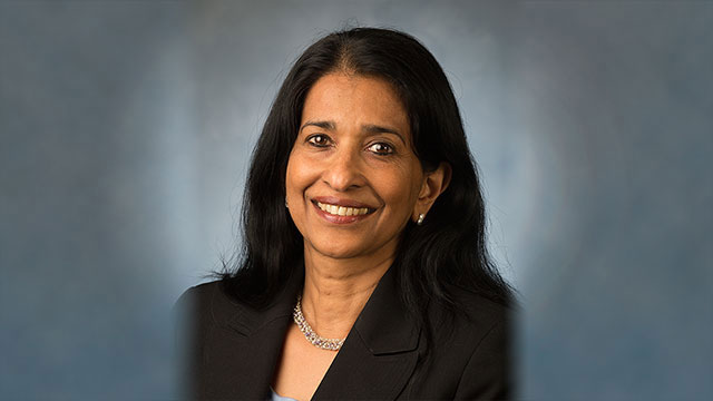 Shanthi Srinivas, associate vice president for academic planning, policy and faculty affairs, will retire effective Aug. 2.