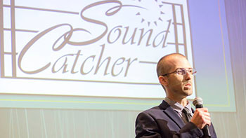 Sound Catcher won first place in the Bronco Startup Challenge for the team's design of a small attacment that goes at the base of a guitar to clean up wires.