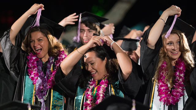 More than 6,200 bachelor's, master's, and doctoral degree candidates will accept their diplomas at Cal Poly Pomona's 60th annual commencement ceremonies.