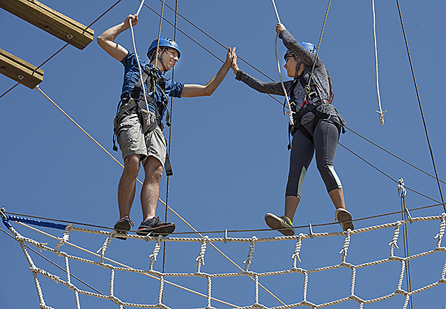 Image result for rope course