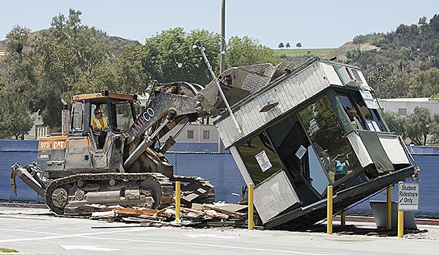 Parking Kiosk Demolition