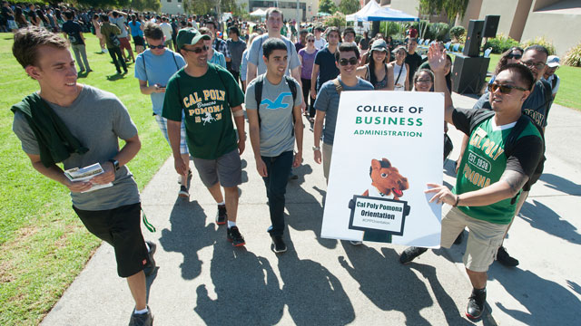 BroncoFusion, an annual celebration to welcome new and returning students to campus, kicks off Wednesday, Sept. 21.