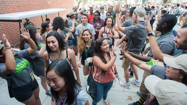 Welcome Week, a program that helps new students get familiar with campus life, kicks off Sept. 18.