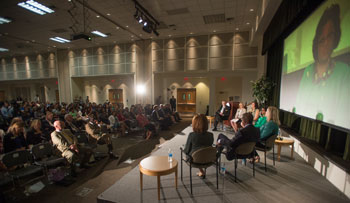 Panel discussion during the 2016 Fall Conference