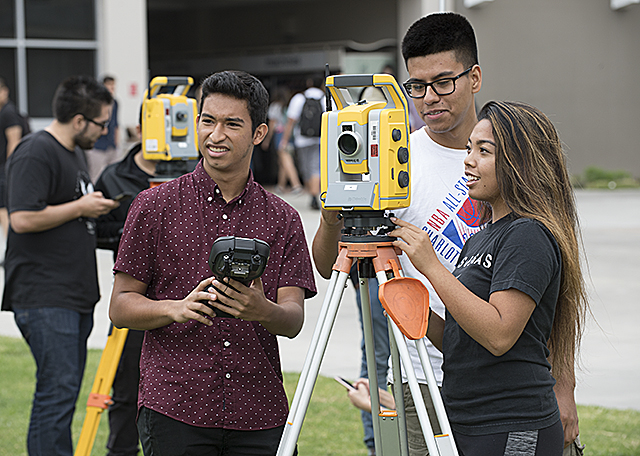 First Day of Surveying Class