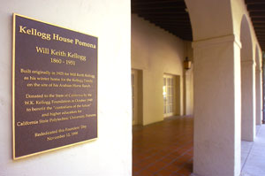 The W.K. Kellogg Foundation donated the home to the state in 1949.