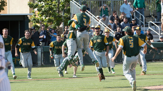 The Los Angeles Angels of Anaheim will recognize Cal Poly Pomona's baseball team.