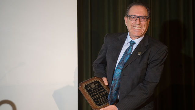 History Department Chair Receives George P. Hart Faculty Leadership Award