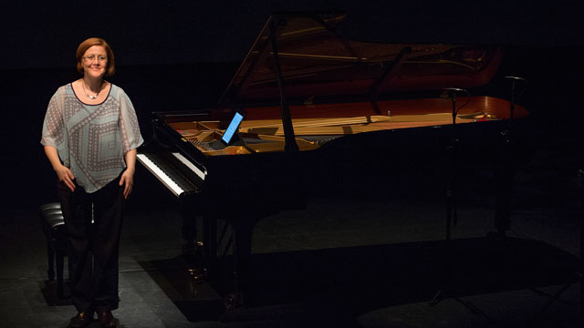 Grammy-nominated pianist and Music Professor Nadia Shpachenko will kick off her annual Shpachenko & Friends Chamber Musical Festival Oct. 13.