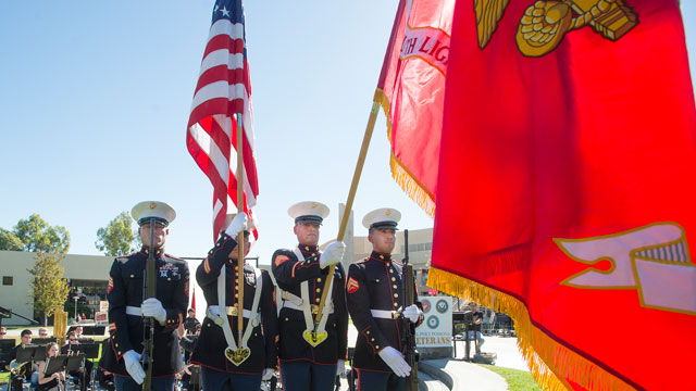 A tribute to veterans is set for Tuesday, Nov. 8.