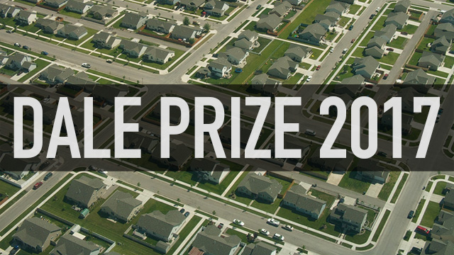 The recipients of the 2017 Dale Prize have been announced.