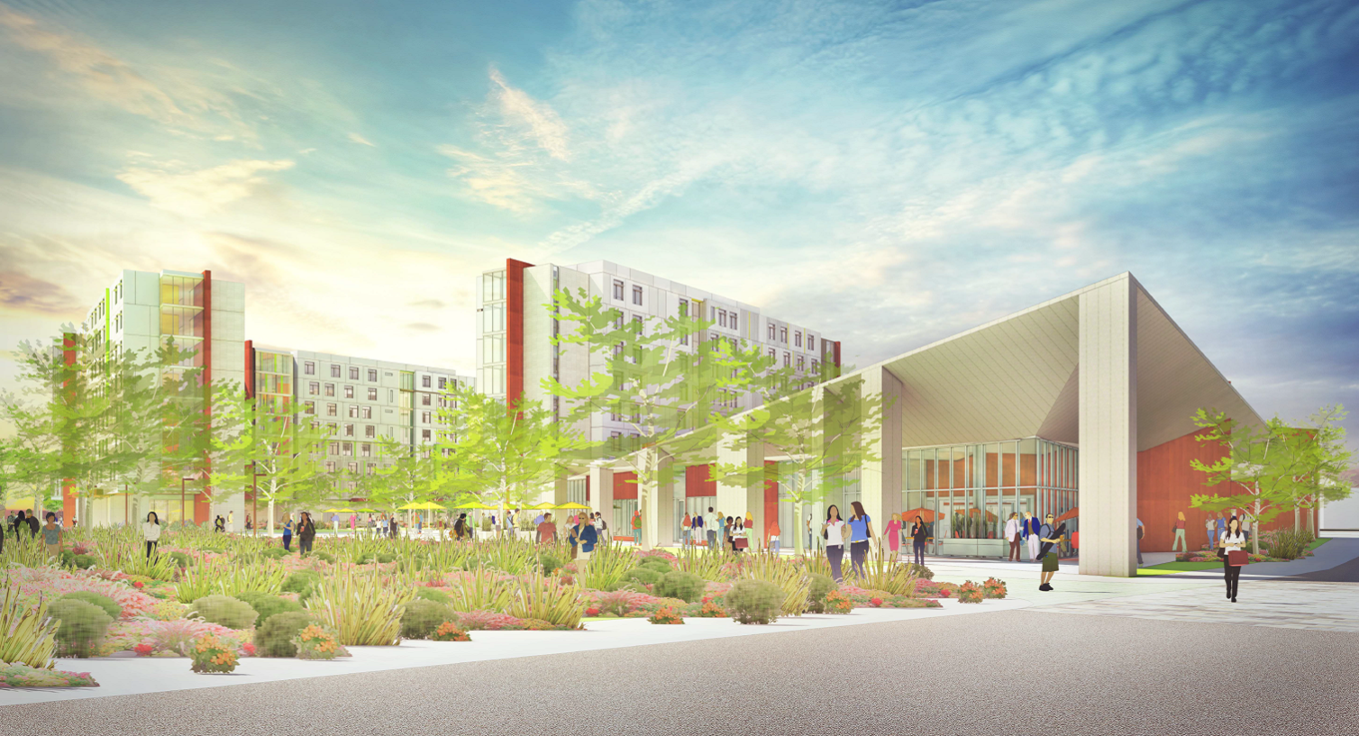 Cal Poly Pomona is preparing to break ground on a new student housing project.