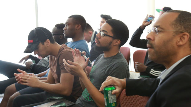 Project SUCCESS is a program designed to help eliminate the achievement/opportunity gap among Latino and African American male students.