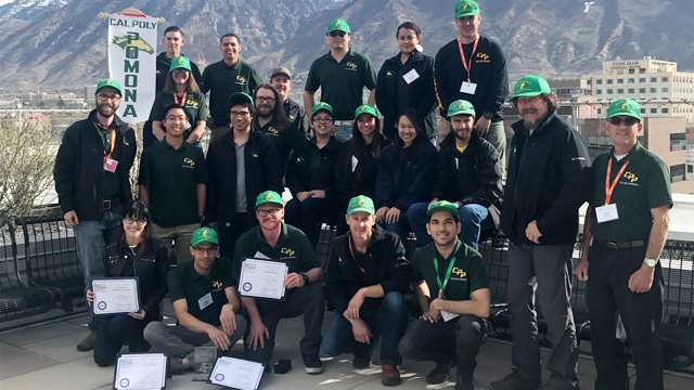 Cal Poly Pomona Landscape Competition Team