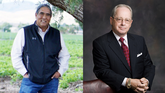 Former California Food & Agriculture Secretary A.G. Kawamura and attorney George H. Soares are honorees for this year's Jim Hicks Agricultural Achievement Award.