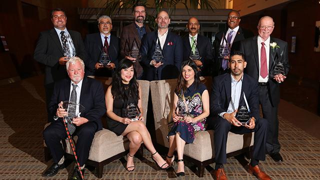 Distinguished Alumni Recipients