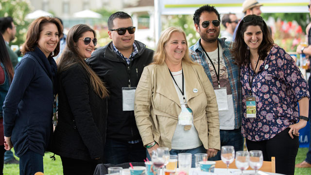 Attendees enjoy food, wine and craft ale at the 10th annual Tasting and Auction on May 7.