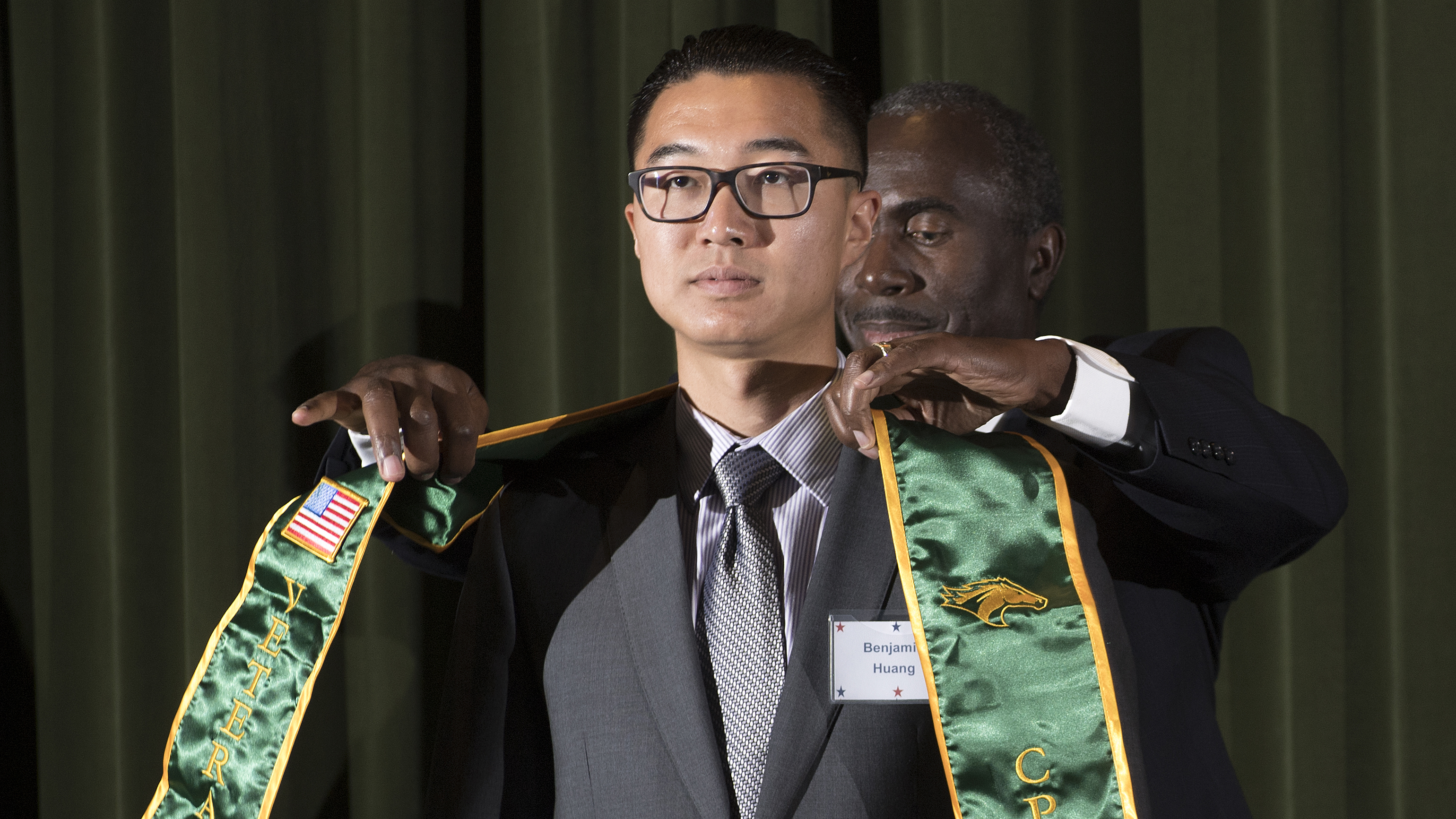 Cal Poly Pomona is the CSU leader in converting military training and experience into transferable college credit, which helps lead to graduation.