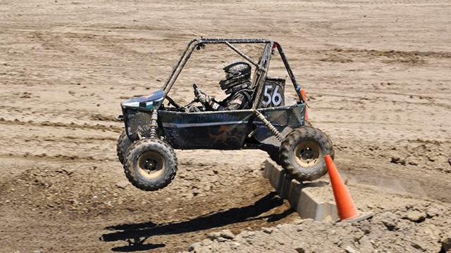 Baja SAE team car