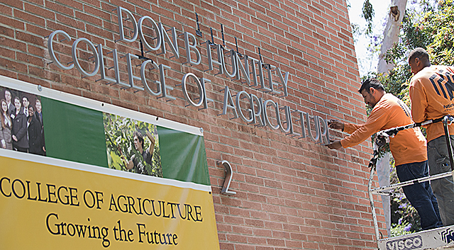 New College of Ag Signage