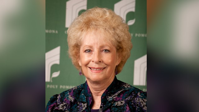 Diana Bartholomew worked at Cal Poly Pomona for more than 30 years.