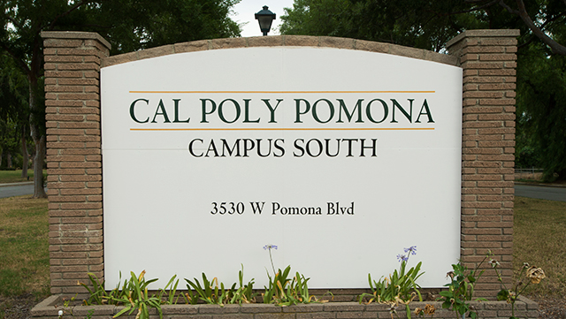 The Cal Poly Pomona Campus South Entrance