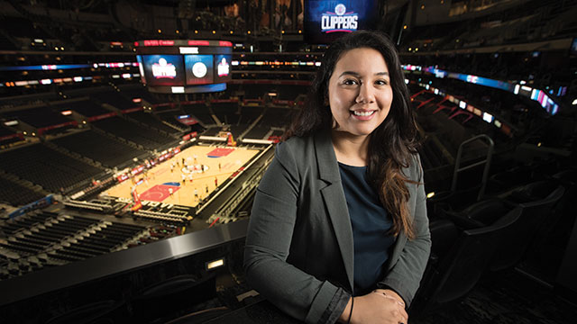 Claudia Cruz ('13 Hospitality Management).