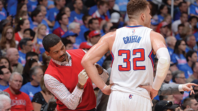 Jensen Powell became the head trainer for the Clippers when he was 27.