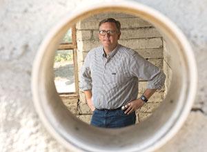 Professor Kyle D. Brown, director of the Lyle Center for Regenerative Studies.