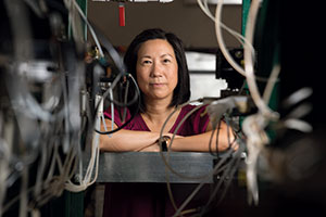 Professor Winny Dong, director of projects & research in the College of Engineering.